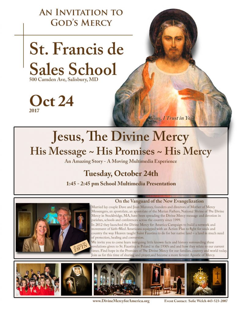 Divine Mercy for America Mother of Mercy Messengers