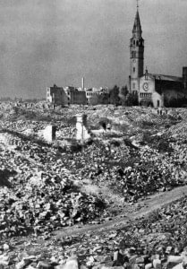 Warsaw Bombed out
