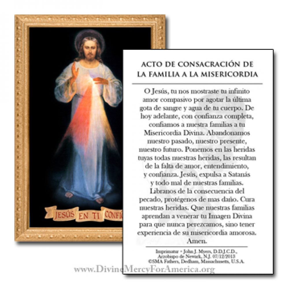Acto de Consacracion de la Familia a La Divina Misericordia