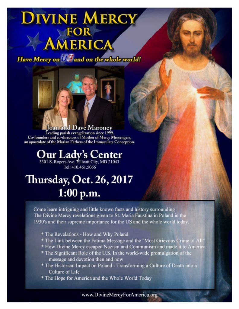 Divine Mercy For America