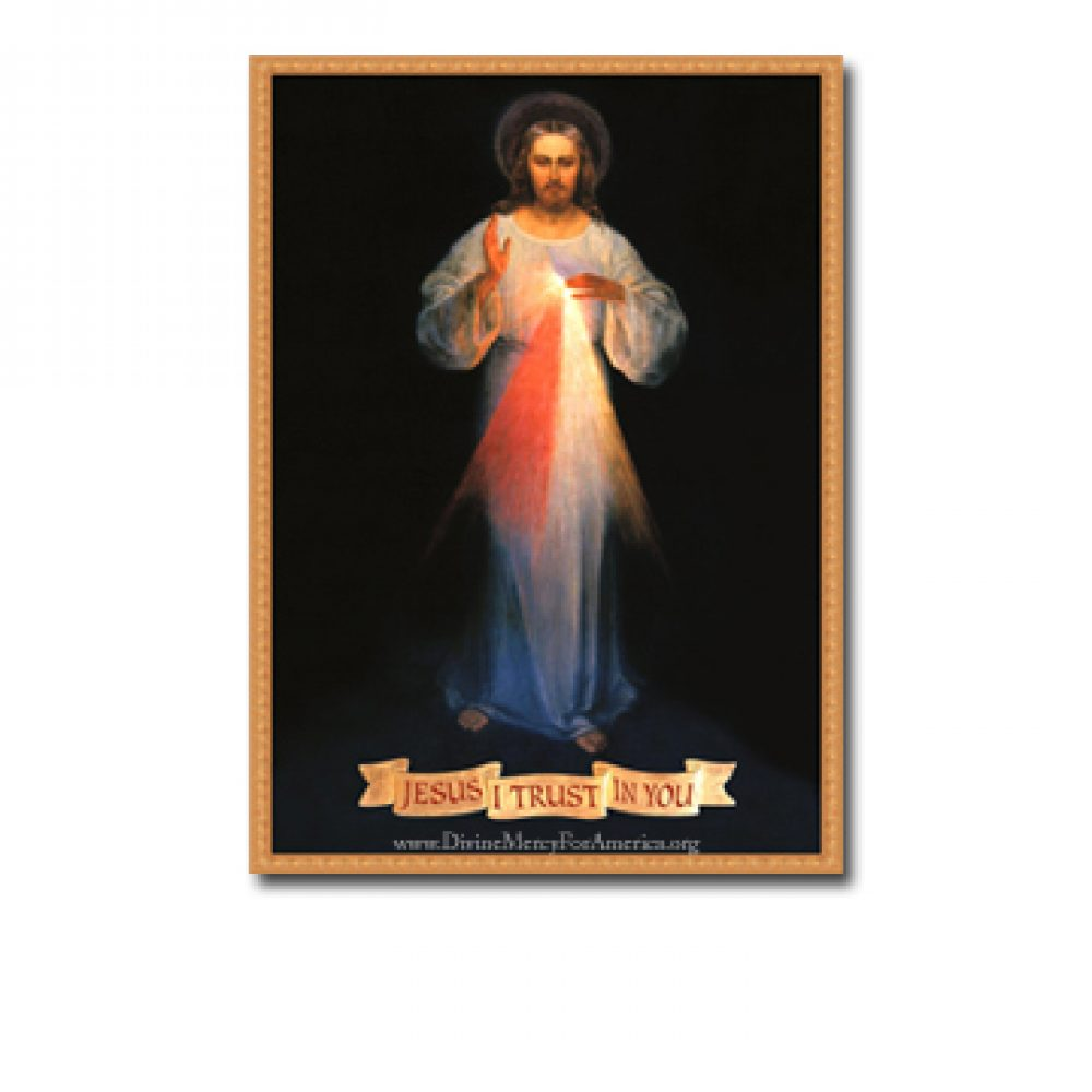 Divine Mercy Vilnius Print