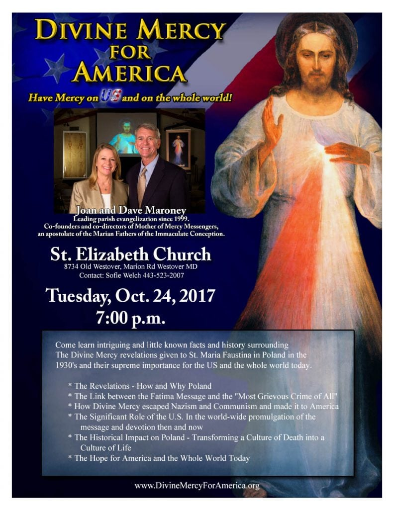 Divine Mercy For America Event