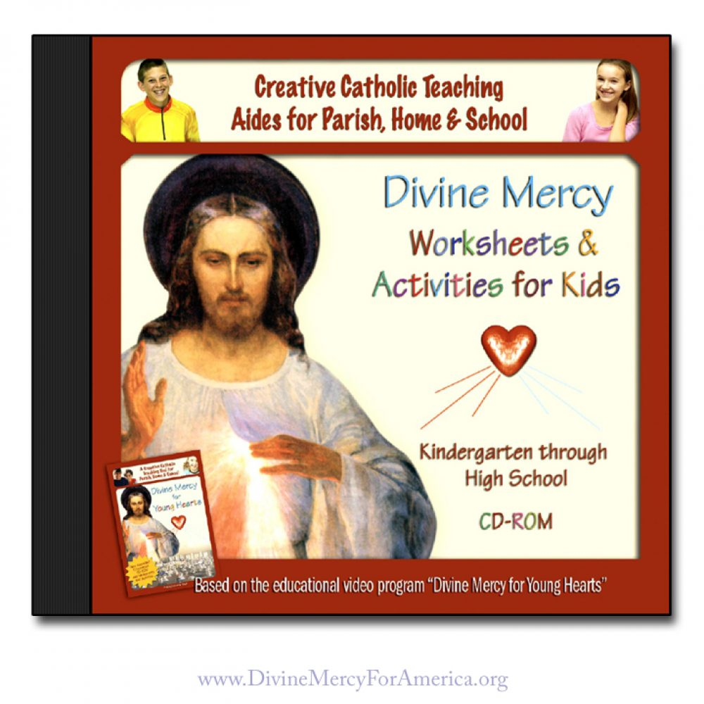 Divine Mercy Worksheets
