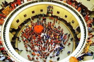 Texas State Capitol Rotunda Floor