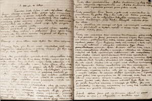 Diary Page Sepia 600x400