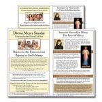 Divine Mercy Sunday Flyer English and Spanish